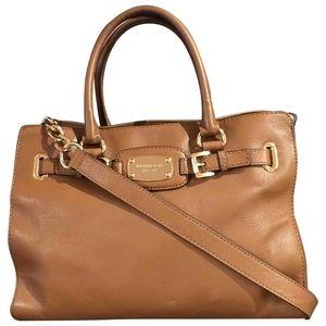 Michael Kors Hamilton style carryall bag, brown